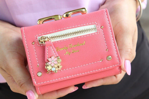 7 Colors Cutie Short Wallet Purse SP153526 - SpreePicky  - 7