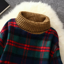 Load image into Gallery viewer, 7 Colors Grids Winter Pullover Fleece Jumper SP164708 - SpreePicky  - 10