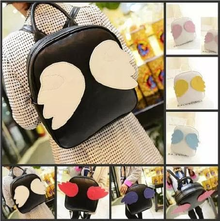 7 Colors Kawaii Angel Wings Backpack SP167980