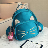 7 Colors Kawaii Glitter Cat Backpack SP1812128