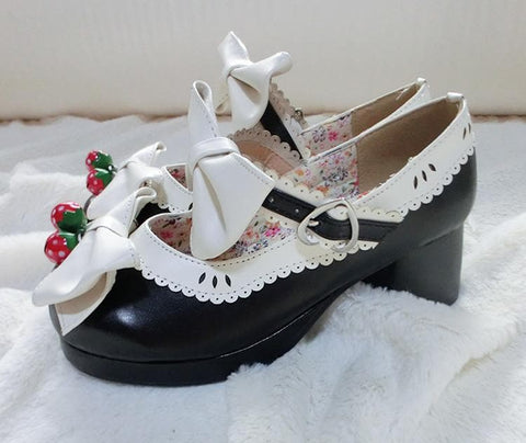 7 Colors Lolita Strawberry Princess  Shoes SP153554 - SpreePicky  - 15