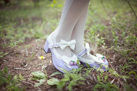7 Colors Lolita Strawberry Princess  Shoes SP153554 - SpreePicky  - 17