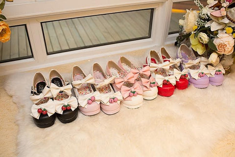 7 Colors Lolita Strawberry Princess  Shoes SP153554 - SpreePicky  - 18