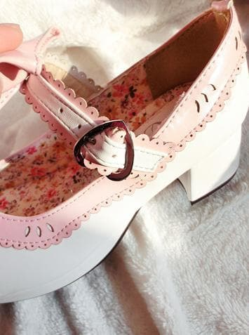 7 Colors Lolita Strawberry Princess  Shoes SP153554 - SpreePicky  - 8