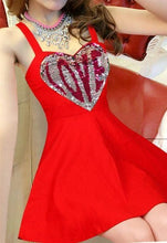Load image into Gallery viewer, 7 Colors Sweet Sparkling LOVE Dress SP1812268