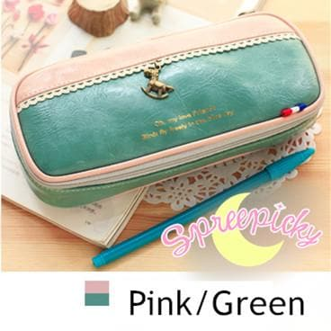 [8 Colors] K-Fashion Big Volume Pencil PU Case Bag SP151629 - SpreePicky  - 9