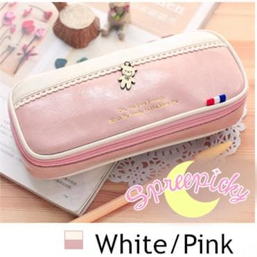 [8 Colors] K-Fashion Big Volume Pencil PU Case Bag SP151629 - SpreePicky  - 13