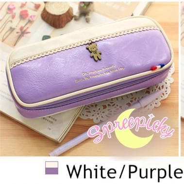 [8 Colors] K-Fashion Big Volume Pencil PU Case Bag SP151629 - SpreePicky  - 14
