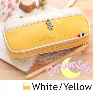 [8 Colors] K-Fashion Big Volume Pencil PU Case Bag SP151629 - SpreePicky  - 6
