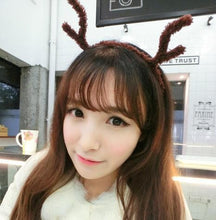 Load image into Gallery viewer, 8 Colours Plush Reindeer Ears Hair Band  SP154107 - SpreePicky  - 11