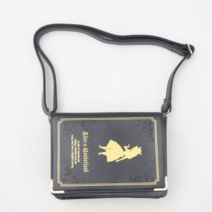 Alice In Wonderland Book Shape Shoulder Cross-body Bag SP140368 - SpreePicky  - 2