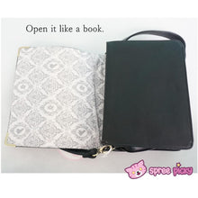Load image into Gallery viewer, Alice In Wonderland Book Shape Shoulder Cross-body Bag SP140368 - SpreePicky  - 8