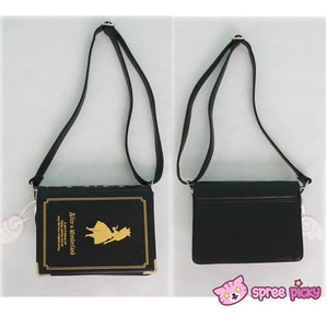 Alice In Wonderland Book Shape Shoulder Cross-body Bag SP140368 - SpreePicky  - 5