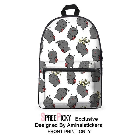 [Aminalstickers Design] Don't Care Ladybug Backpack SP179105