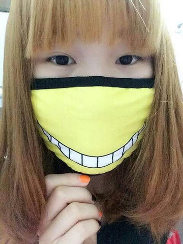 [Assassination Classroom] Killer Sensei Emotion Face Mask SP152114 - SpreePicky  - 2