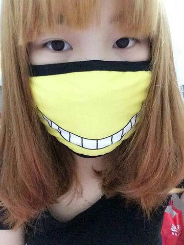 [Assassination Classroom] Killer Sensei Emotion Face Mask SP152114 - SpreePicky  - 3