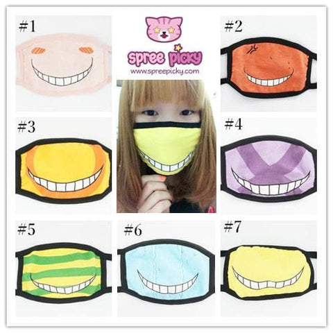 [Assassination Classroom] Killer Sensei Emotion Face Mask SP152114 - SpreePicky  - 1