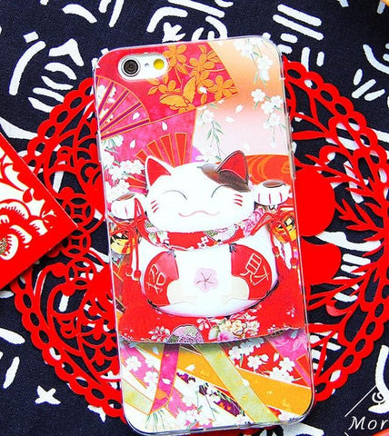 Lucky Cat Fortune Neko Phone Case SP166283