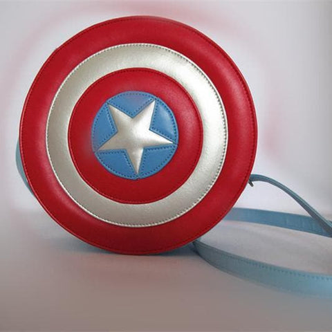 Awesome Captain America Shield Cross Bag Free Ship SP140961