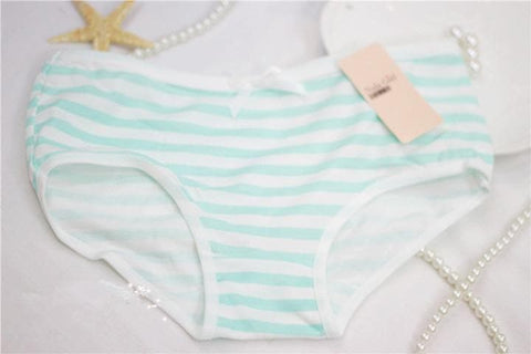 Baby Blue/Light Green/Light Pink Sweet Striped Undies SP165961