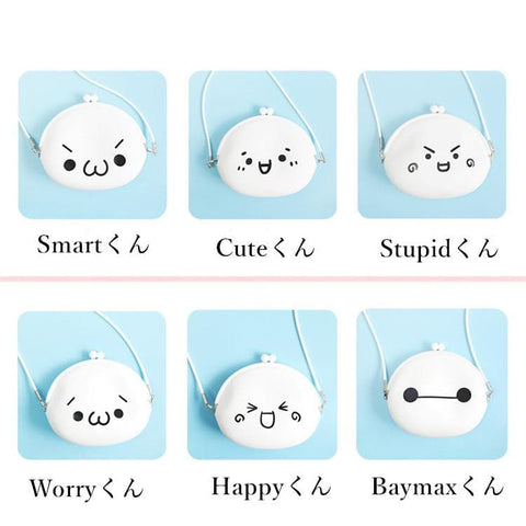 Baymax Emoji lil purse Crossbody Shoulder Bag SP152249 - SpreePicky  - 2
