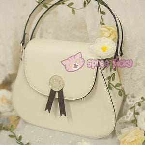 Beige/Black Card Captor Sakura Crown Hand Bag SP152380 - SpreePicky  - 3