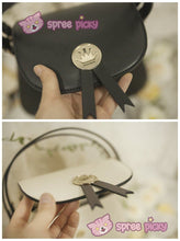 Load image into Gallery viewer, Beige/Black Card Captor Sakura Crown Hand Bag SP152380 - SpreePicky  - 8