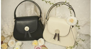 Beige/Black Card Captor Sakura Crown Hand Bag SP152380 - SpreePicky  - 2