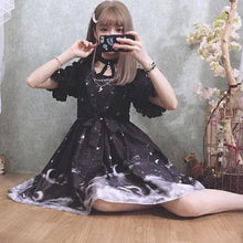 Load image into Gallery viewer, Beige/Black Fantasy Garden Birdcage Moonlight Dress SP1710395