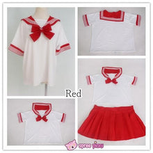 Load image into Gallery viewer, [10 Colors] XS-4XL J-fashion Stretch Sailor Seifuku Uniform Top Only SP151671 - SpreePicky  - 4