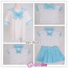 Load image into Gallery viewer, [10 Colors] XS-4XL J-fashion Stretch Sailor Seifuku Uniform Top Only SP151671 - SpreePicky  - 2