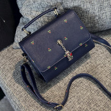 Load image into Gallery viewer, Black/Navy/Beige Carry a Kitty Shoulder Bag SP154294 - SpreePicky  - 4