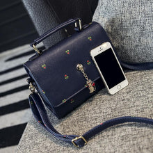 Load image into Gallery viewer, Black/Navy/Beige Carry a Kitty Shoulder Bag SP154294 - SpreePicky  - 5