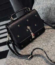 Load image into Gallery viewer, Black/Navy/Beige Carry a Kitty Shoulder Bag SP154294 - SpreePicky  - 15