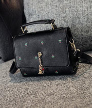 Load image into Gallery viewer, Black/Navy/Beige Carry a Kitty Shoulder Bag SP154294 - SpreePicky  - 16