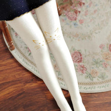 Load image into Gallery viewer, Black/Navy/Deep Grey/White Kawaii Neko Tights SP1711436