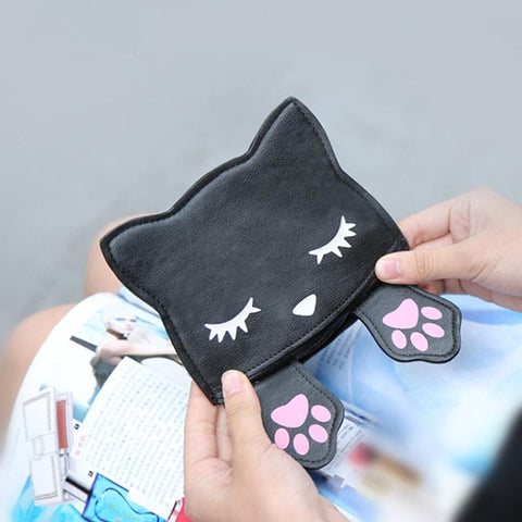 Black/Pink/Brown Kawaii Kitty Mini Purse SP1710274