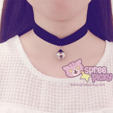 Load image into Gallery viewer, Black/White/Pink Bell Choker SP167433