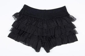Black/White Cutie Bottoming Shorts SP153815 - SpreePicky  - 7