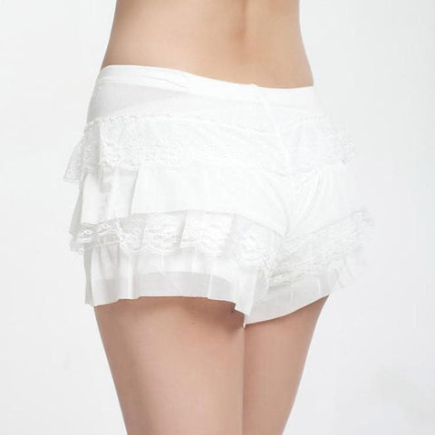 Black/White Cutie Bottoming Shorts SP153815 - SpreePicky  - 5