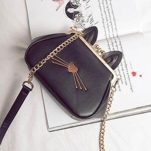 Black/White Kawaii Bunny Shell Cross Body Bag SP1710261