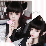 Black/White Kitty Ears Hair Hoop SP141189 - SpreePicky  - 2