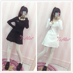 Black/White Sweet Killer Dress SP178914