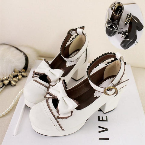 Black/White [Want a Date] Shoes SP153552 - SpreePicky  - 4