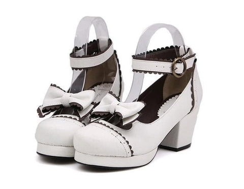 Black/White [Want a Date] Shoes SP153552 - SpreePicky  - 5