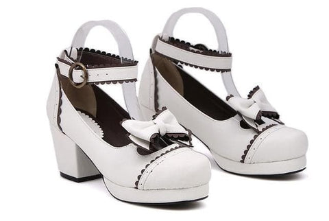 Black/White [Want a Date] Shoes SP153552 - SpreePicky  - 6