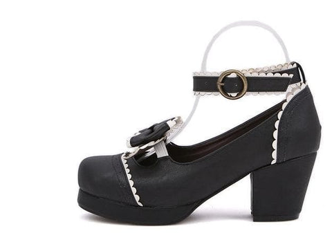 Black/White [Want a Date] Shoes SP153552 - SpreePicky  - 9