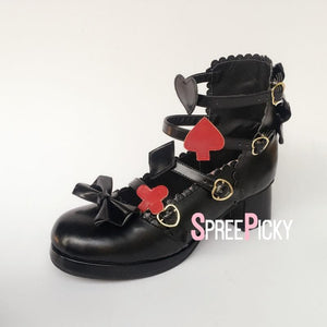 Black Alice Lost In The Dark High Heel Shoes SP179999