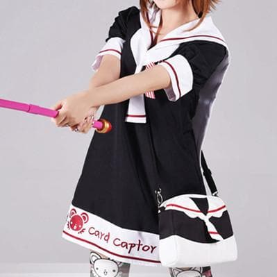 Black [Card Captor Sakura] Seifuku Shoulder Bag Hand bag SP153805 - SpreePicky  - 5