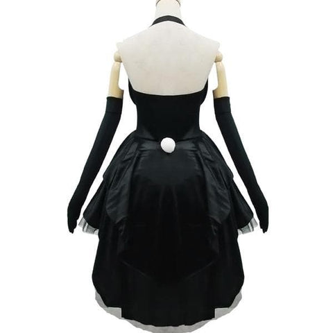 Black Gorgeous Forked Tail Bunny Dress Cosplay Costume SP153688 - SpreePicky  - 5